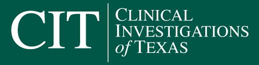 Clinical Trials of Texas Logo